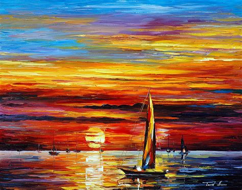 paint nite canvas size the return of the palette knife painting on