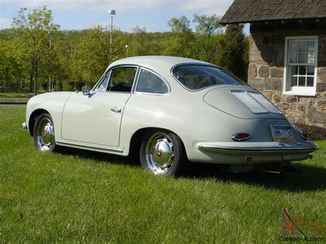 gray porsche 1964 porsche 356 sc coupe dolphin gray green restored