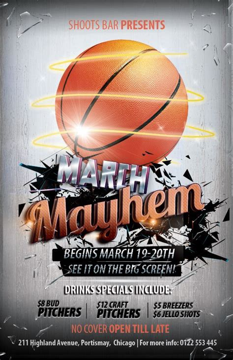 13 Best Tournament Flyers Images On Pinterest Basketball Event Flyers And Flyer Design Free Basketball Photoshop Templates