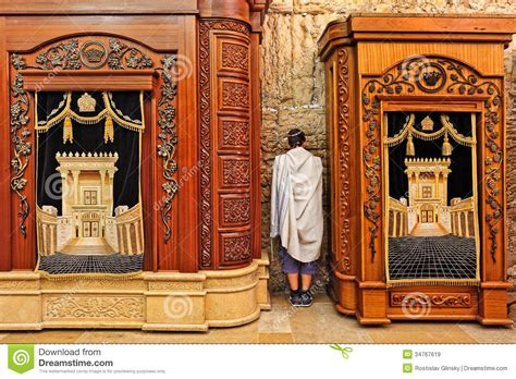 wooden scrolls for cabinets wooden cabinets with torah at western wall editorial