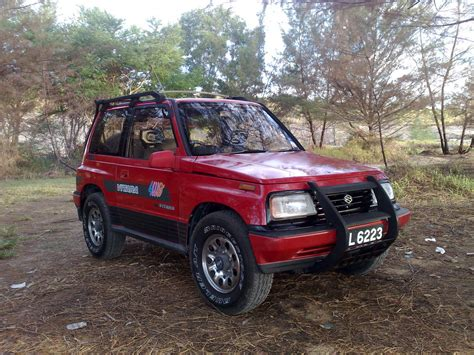 Suzuki Vitara 91 Tsunami68 1991 Suzuki Vitara Specs Photos Modification