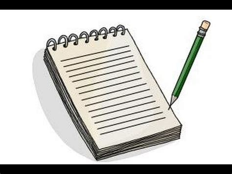 Drawing Notebook by How To Draw A Notebook