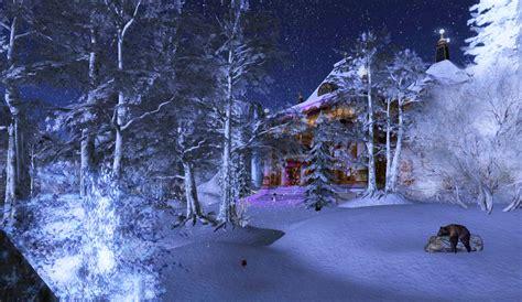 images of christmas night one christmas night a peek through the trees calas