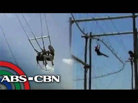 roller coaster swing higanteng swing roller coaster zip line sa panga youtube