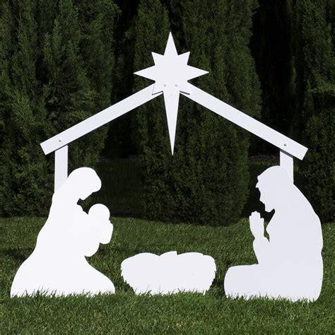 yard nativity nativity yard silhouettes displays wikii