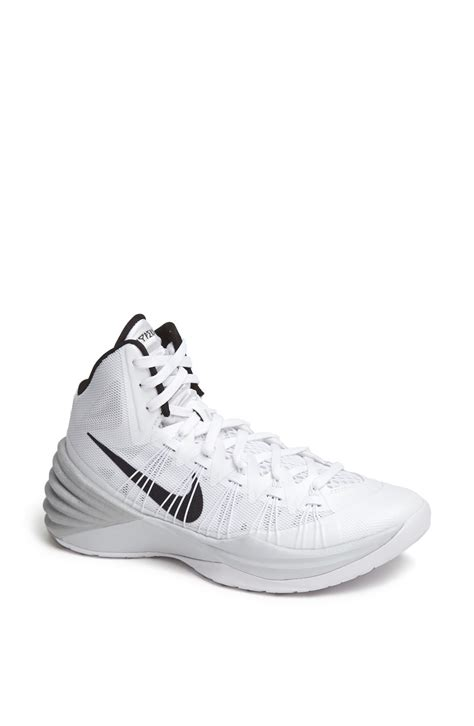 silver basketball shoes nike sneakers s high tops trainers lyst