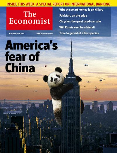 Economist's Cool China cover | International Political ... Economist's View Blog