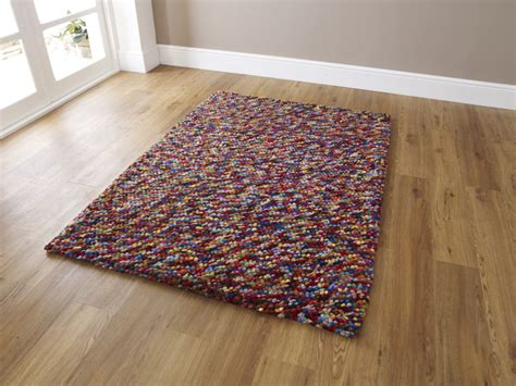 best seller knotted rugs pebbles effect knotted large floor mat 100 wool soft heavy weight rug home ebay