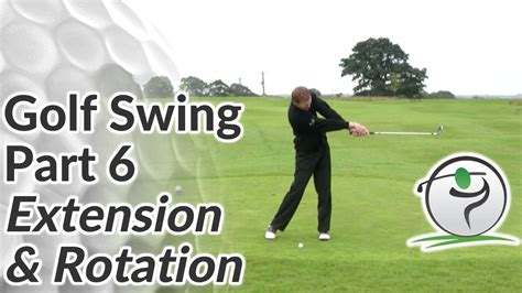golf swing release golf swing extension how to release your arms