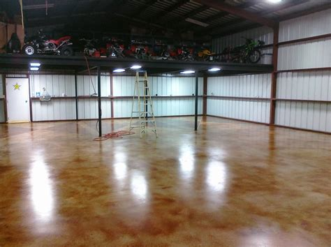 Concrete Garage Floor Stain by Stained Concrete Customers At X Esr Decorative