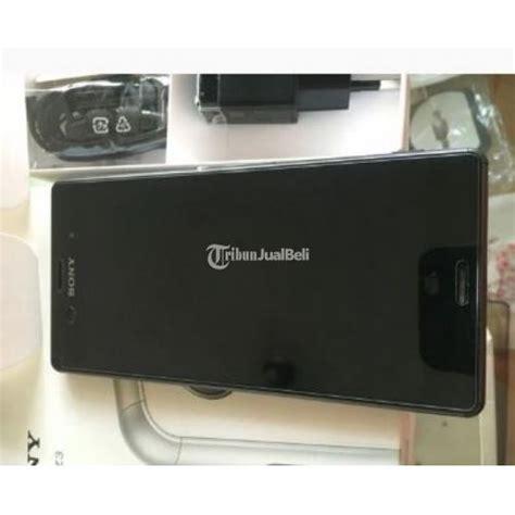 Hp Sony Malang sony z3 dual d6633 bekas warna hitam fullset harga murah malang dijual tribun jualbeli