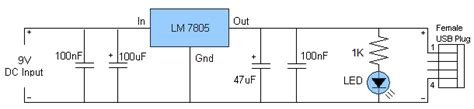 usb battery charger circuit diagram usb charger circuit diagram