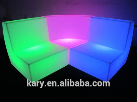 light up sofa led chairs for bar event outdoor combined light up sofa