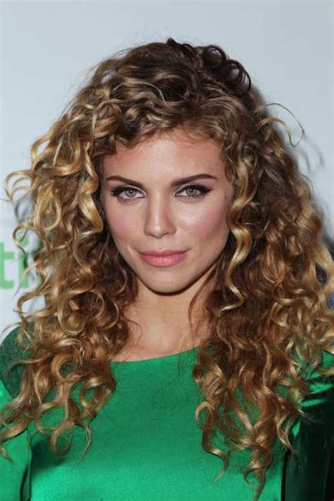 Curled Hairstyles by 25 Curly Hair Hairstyles 2016 2017