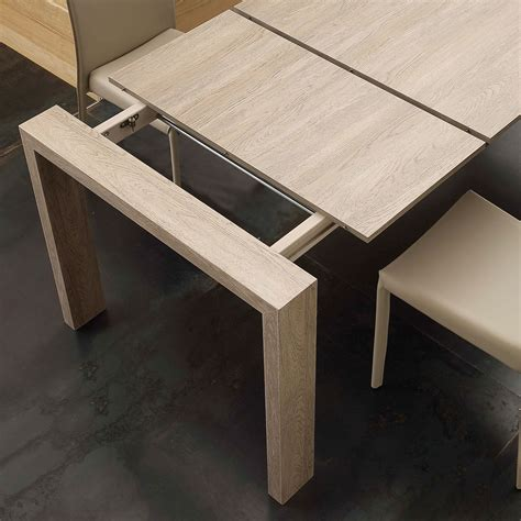 Mdf Dining Table Extendable Dining Table Jesi Made Of Mdf