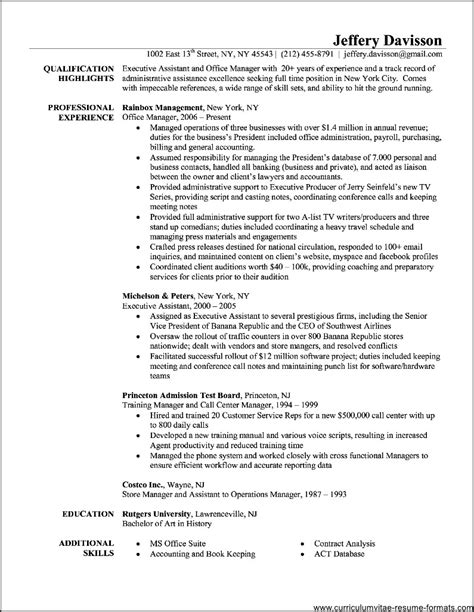 Office Administrator Resume by Office Administrator Resume Exles Free Sles