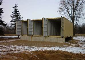 shipping container homes tin can cabin in northern wisconsin