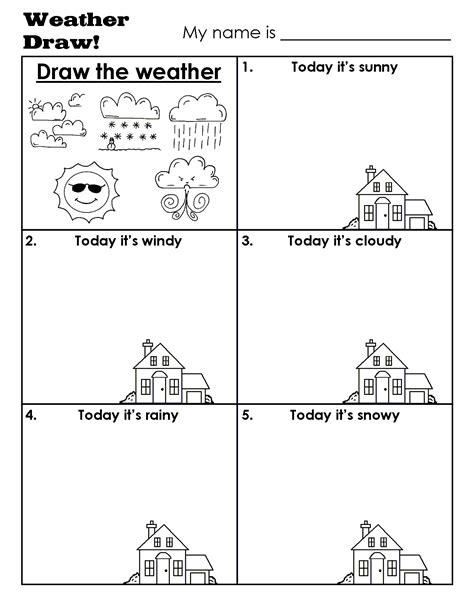 kindergarten activities drawing draw weather gif 1 275 215 1 650 p 237 xeles english learning