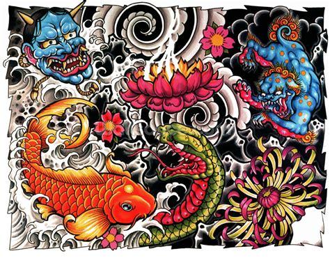 tattoo wallpaper wall mural wallsauce usa