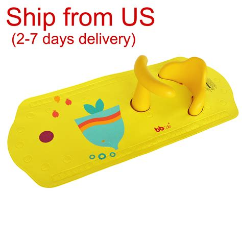 Bath Mat With Seat For Babies by Baby Safety Bath Seat Non Slip Bath Mat With