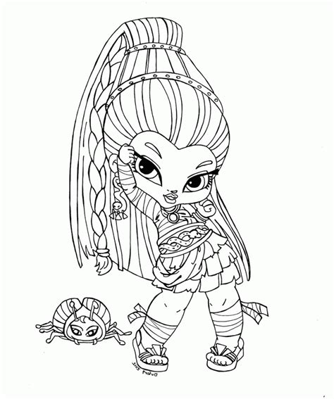 monster high coloring pages nefera de nile monster high of nefera de nile coloring page car pictures
