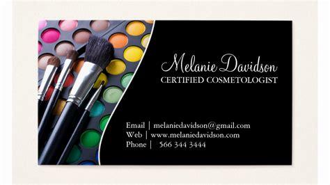 makeup artist business card template psd 50 unique makeup artist business cards images the best