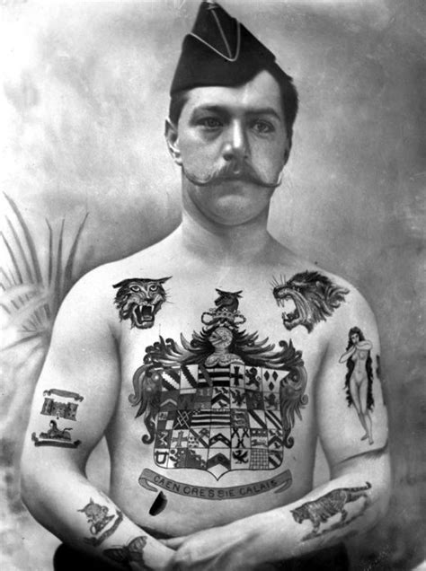 legal age for tattoo vintage pictures that capture the golden age of tattoos