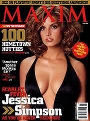 jessica simpson maxim blog this sissy june 2006