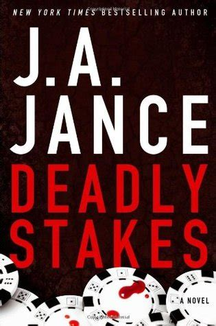 deadly stakes ali 8 by j a jance