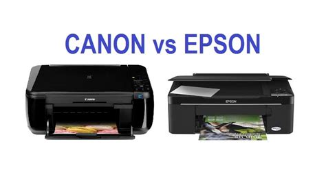 Printer Epson Vs Canon canon vs epson which brand has the best inkjet photo