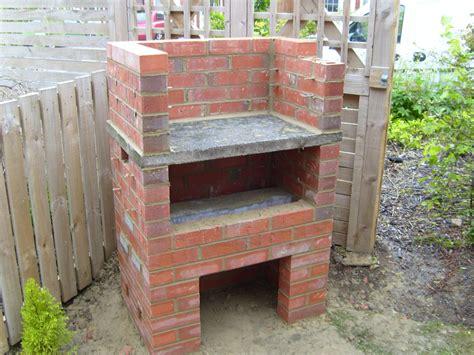 gemauerter smoker roofless griller building the smoker