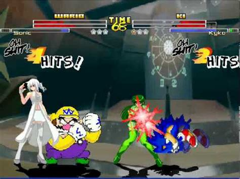 The Vires Minotaur sb mugen 39 sonic and wario vs kyko and