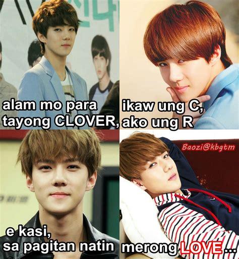 Exo Tagalog Memes - exo tagalog memes sehun meme wattpad