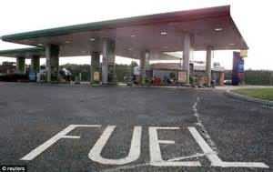 nearest garage petrol motorway service stations forced to advertise petrol