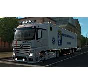 Mercedes MP4 Siotrans Skin 123  ETS2 Mods