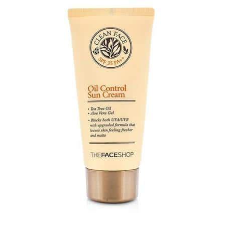 Harga The Shop Clean Free Sun 10 merk sunblock yang bagus untuk melindungi kulit
