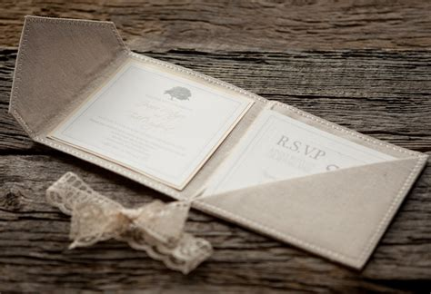 Unique Fold Out Wedding Invitations by Joanie Todd S Linen And Lace Wedding Invitations