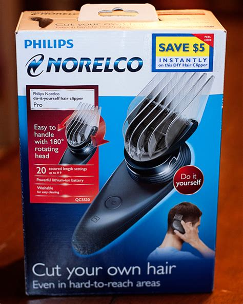 cut your own hair with clippers philips norelco do it yourself hair clipper pro review