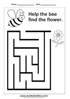 printable maze games for kindergarten preschool and kindergarten mazes printable worksheets