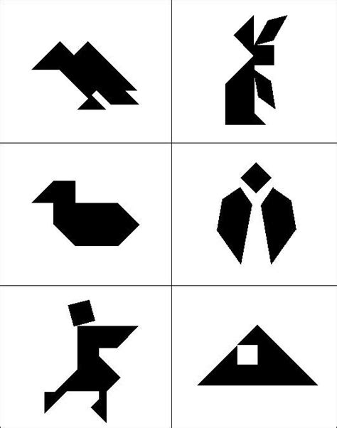 1000 images about tangram on thinking skills