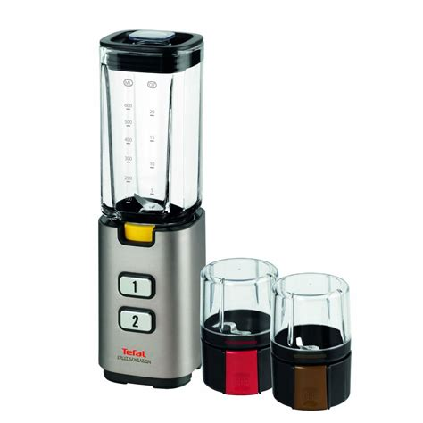Mixer Tefal tefal bl142a42 fruit sensation 2 speed blender with mini