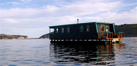 boat house accommodation knysna houseboat myrtle self catering accommodation