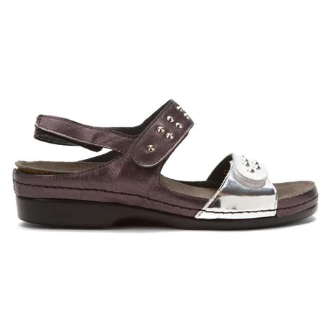 helle comfort sandals helle comfort women s tabula sandals in silver pewter