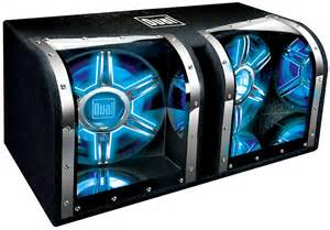 Car Audio Neon Lighting Dual Bp1204 12 034 1100w Car Audio Subwoofer Box Enclosure