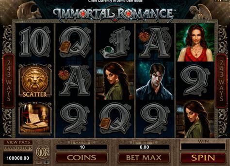 immortal romance slot  demo game  play