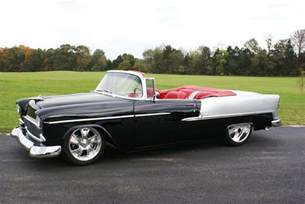 1955 chevrolet bel air custom convertible 161130
