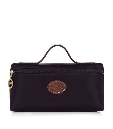 longch le pliage cosmetic bag in brown lyst