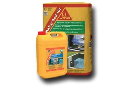 Sikatop Seal 107 supplier of construction and restoration products jamac