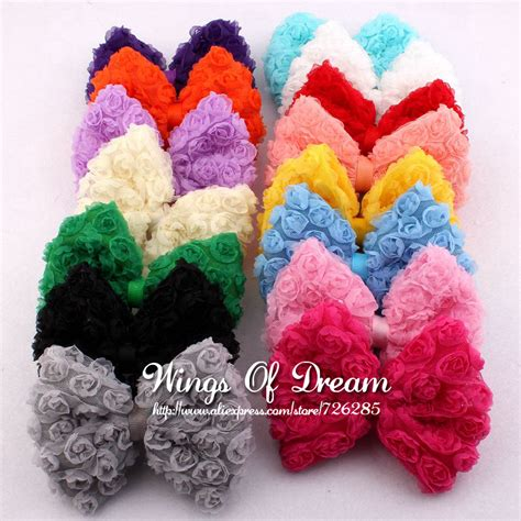 Soft Bows High Quality Handmade 120pcs lot 15colors artificial baby winter hair accessories high quality handmade