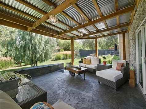 Design Ideas For Suntuf Roofing 10 Best Images About Outdoor Patio And Fireplace On Pinterest Iron Patio Furniture Metal
